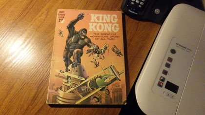 Kong graphic novel
