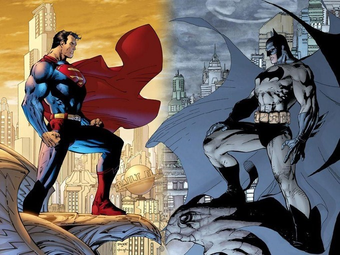 Light and Dark - Superman and Batman