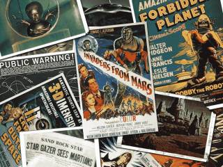 Scifi movie posters